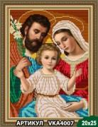 Рисунок на ткани для вышивки бисером Святое семейство