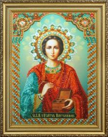 Набор для вышивки бисером Св. Пантелеймон Целитель