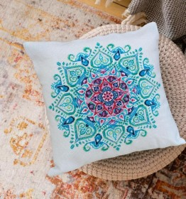 Набор для вышивки подушки Мандала Абрис Арт АНР-003 - 426.00грн.