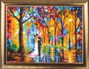 Набор для вышивки бисером Свадьба под дождём