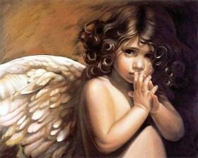 Набор для выкладки алмазной мозаикой Ангельский взгляд Алмазная мозаика DM-155 - 640.00грн.