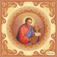 Схема вышивки бисером на атласе Святой Апостол и Евангелист Лука