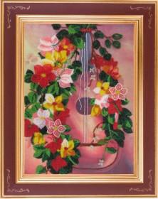Схема для вышивки бисером на атласе Гитара Баттерфляй (Butterfly) СА 801Б - 45.00грн.