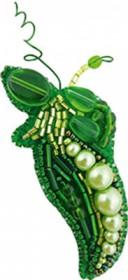 Набор для изготовления броши Горошек Cristal Art БП-232 - 95.00грн.