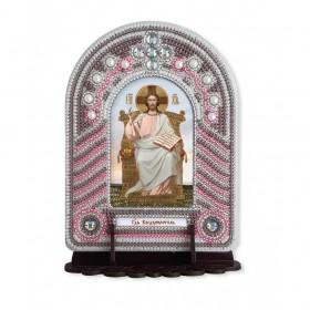 Набор для вышивки бисером с рамкой киотом Господь Вседержитель