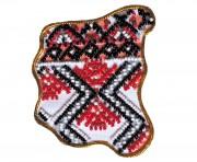 Набор - магнит для вышивки бисером Карта Украины Черниговская область