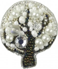 Набор для изготовления броши Дерево Cristal Art БП-208 - 145.00грн.