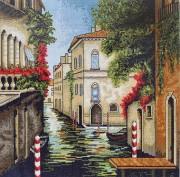 Набор для вышивки крестом Венеция в цветах