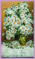 Набор для вышивки бисером Букет ромашек Картины бисером Р-304
