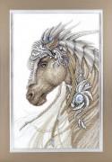 Набор для вышивки крестиком Сказочный конь