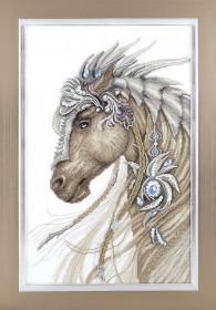 Набор для вышивки крестиком Сказочный конь, , 471.00грн., М-291, Чарiвна мить (Чаривна мить), Животные