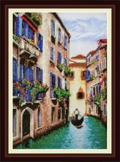 Набор для вышивки крестом Венеция  OLANTA VN-046