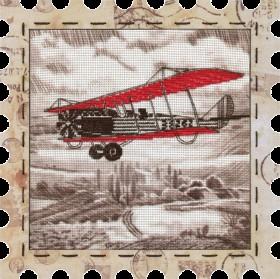 Набор для вышивки нитками Самолет Новая Слобода (Нова слобода) КО4015 - 274.00грн.