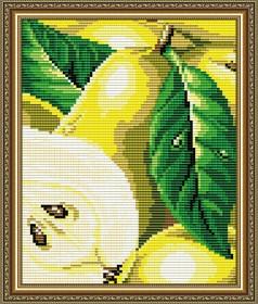 Набор для выкладки алмазной мозаикой Груша, , 280.00грн., АТ5575, Art Solo, Натюрморты