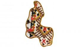 Набор - магнит для вышивки бисером Карта Украины Сумская область Абрис Арт АМК-018 - 56.00грн.
