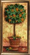 Набор для вышивки бисером Апельсиновое дерево