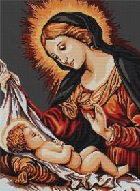 Набор для вышивки крестом Божья Матерь Luca-S В325 - 472.00грн.