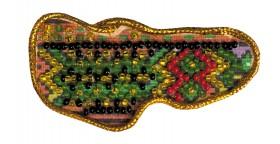 Набор - магнит для вышивки бисером Карта Украины Закарпатская область Абрис Арт АМК-007 - 40.00грн.
