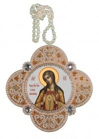 Набор для изготовления подвески Богородица Помощница в родах Zoosapiens РВ3312 - 150.00грн.