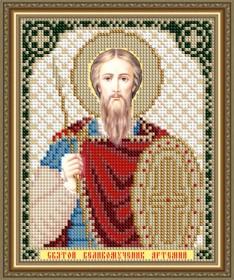 Схемы вышивки бисером на авторской канве Святой Великомученик Артемий
