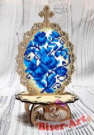 Писанка для вышивки бисером по дереву Гжель Biser-Art 37718 - 99.00грн.