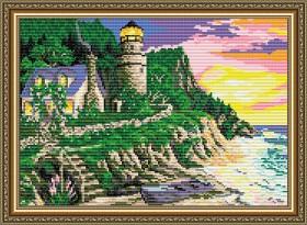 Набор для выкладки алмазной мозаикой Маяк, , 400.00грн., АТ3014, Art Solo, Пейзажи