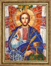Набор для вышивки бисером Христос Спаситель (по картине А. Охапкина) Баттерфляй (Butterfly) 817Б