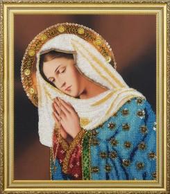 Набор для вышивки бисером Молящаяся Дева Мария  Картины бисером Р-358 - 654.00грн.