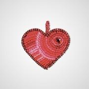 Набор для вышивки подвеса Сердце любовь