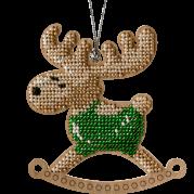 Набор для вышивки бисером бисером по дереву Олень