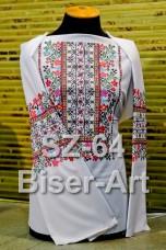 Заготовка для вышивки бисером Сорочка женская Biser-Art Сорочка жіноча SZ-64 (льон)