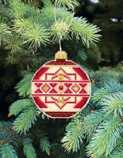 Набор для вышивки нитками Новогодняя игрушка Скоро Новый год Чарiвна мить (Чаривна мить) Т-09