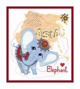 Набор для вышивания крестом Детский мир. Азия