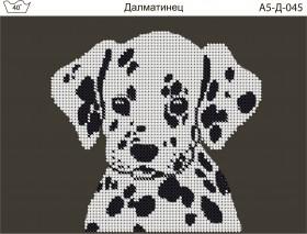 Схема для вышивки бисером на габардине Далматинец Acorns А5-Д-045 - 30.00грн.