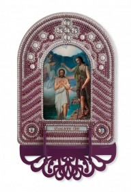 Набор для вышивки иконы с рамкой-киотом Крещение Господне Новая Слобода (Нова слобода) ВК1021 - 205.00грн.