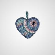 Набор для вышивки подвеса Сердце надежда