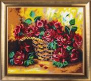 Набор для вышивки бисером Солнечные розы