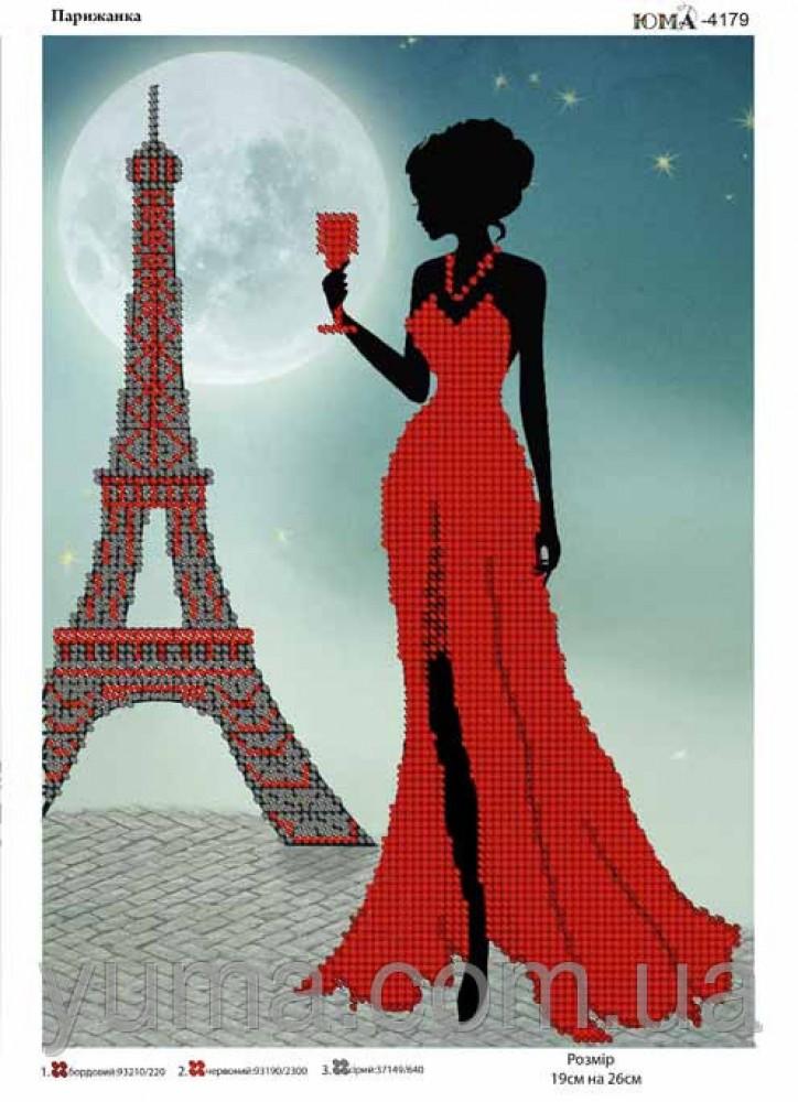 Парижанки вышивка крестом схемы