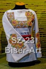 Заготовка для вышивки бисером Сорочка женская Biser-Art Сорочка жіноча SZ-23 (габардин)