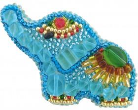 Набор для изготовления броши Слонник Cristal Art БП-226 - 86.00грн.