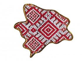 Набор - магнит для вышивки бисером Карта Украины Запорожская область Абрис Арт АМК-008 - 64.00грн.