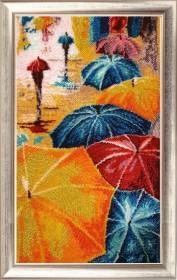 Набор для вышивки бисером Веселые зонтики Баттерфляй (Butterfly) 833Б - 665.00грн.