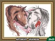 Рисунок на ткани для вышивки бисером Любовь на двоих