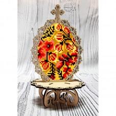Писанка для вышивки бисером по дереву Хохлома Biser-Art 37722