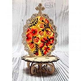 Писанка для вышивки бисером по дереву Хохлома Biser-Art 37722 - 99.00грн.