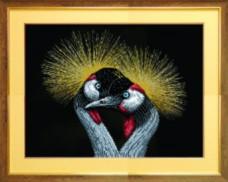 Схемы для вышивания бисером на авторской канве Птицы Чарiвна мить (Чаривна мить) СБ-216