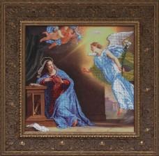 Схема вышивки бисером на ткани Благовещение  Краса и творчiсть Р-40810