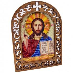 Набор для вышивки бисером на деревяной основе Вседержитель Вдохновение IKF02 - 175.00грн.