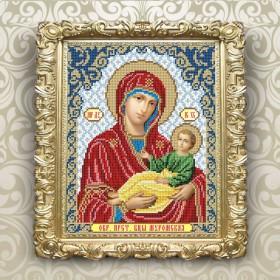 Рисунок на ткани для вышивки бисером Богородица Муромская
