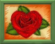 Схема для вышивки бисером Роза